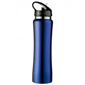 500 ml vákuová športová fľaša so slamou