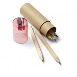 Sada farebných ceruziek, orezávátko