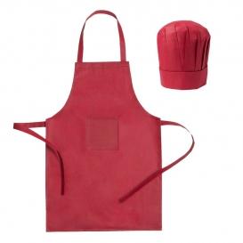 Kuchynská zástera a kuchársky klobúk