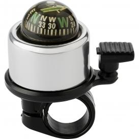 Zvonček na bicykel s kompasom