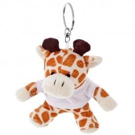Gracie, plyšová žirafa, krúžok na kľúče