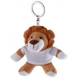 Rex, plyšový lev, krúžok na kľúče