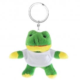 Laila, plyšová žaba, krúžok na kľúče