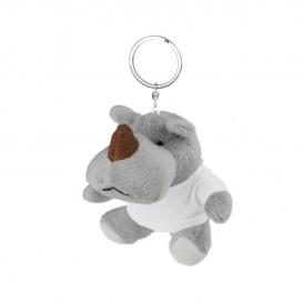 Rupert, plyšový nosorožec, krúžok na kľúče