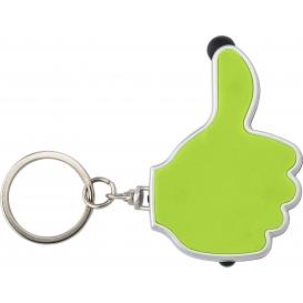 """Prsteň na kľúče, dotykové pero """"like it"""" s LED lampou"""