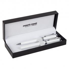 Sada na písanie Mauro Conti, kolieskové pero a guľôčkové pero