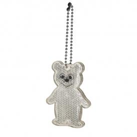 """Kľúčenka, reflexný prívesok """"medveď"""""""