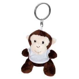 Karly, plyšová opica, krúžok na kľúče