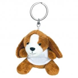 Braidy, plnený pes, krúžok na kľúče