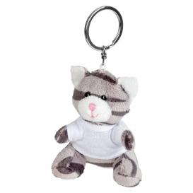 Ollie, plyšová mačka, krúžok na kľúče