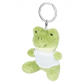 Sallie, plyšová žaba, krúžok na kľúče