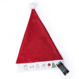Kreslenie, vianočné čiapky