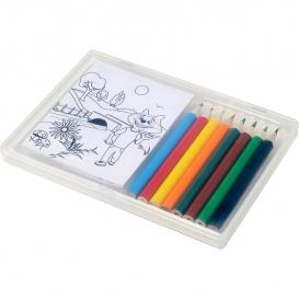 Kresliaca súprava, ceruzky a maľovanky