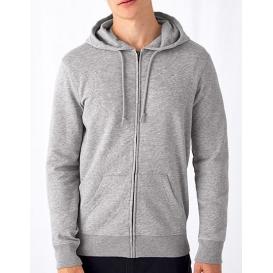 Organic Zipped Hood Jacket