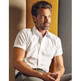 Men `Poplin Shirt Short Sleeve