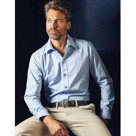 Men `Poplin Shirt Long Sleeve