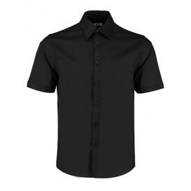 Men `Tailored Fit Bar Shirt Short Sleeve