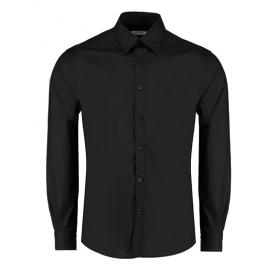 Men `Tailored Fit Bar Shirt Long Sleeve