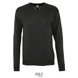 Men `V Neck Sweater Galaxy