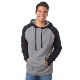 Men `Lightweight Raglan Hooded Pullover