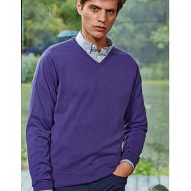 Men`s V-Neck Knitted Sweater