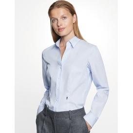 Women`s Blouse Slim Fit Check / Stripes Longsleeve