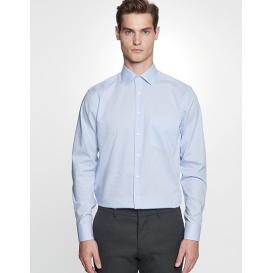 Men `Shirt Regular Fit Check / Stripes Longsleeve