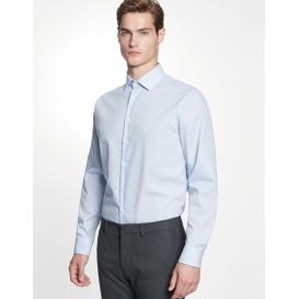 Men `Shirt Shaped Fit Check / Stripes Longsleeve