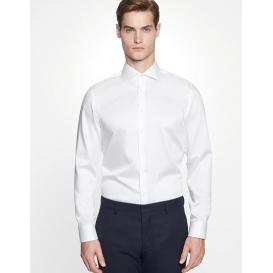 Men `Shirt Shaped Fit Twill Longsleeve