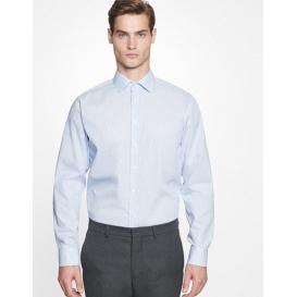 Men `Shirt Slim Fit Check / Stripes Longsleeve