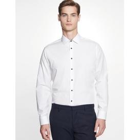 Men `Shirt Poplin Slim Fit Longsleeve