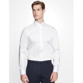 Men `Shirt Slim Fit Twill Longsleeve