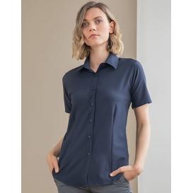 Ladies` Wicking Short Sleeve Shirt