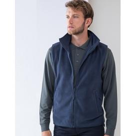 Men `Sleeveless Microfleece Jacket