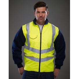 Hi-Vis Chevron Quilted Jacket